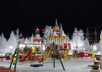 Детский городок КСИЛ в г. Покачи