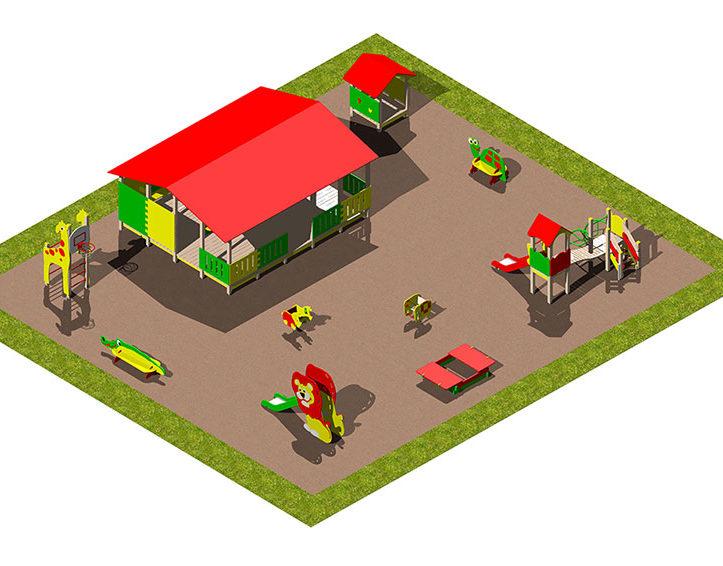 Игровая площадка «Африка»