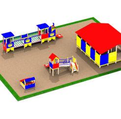 Игровая площадка для дворов и детских садов