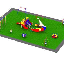 Игровая площадка «Корабль»