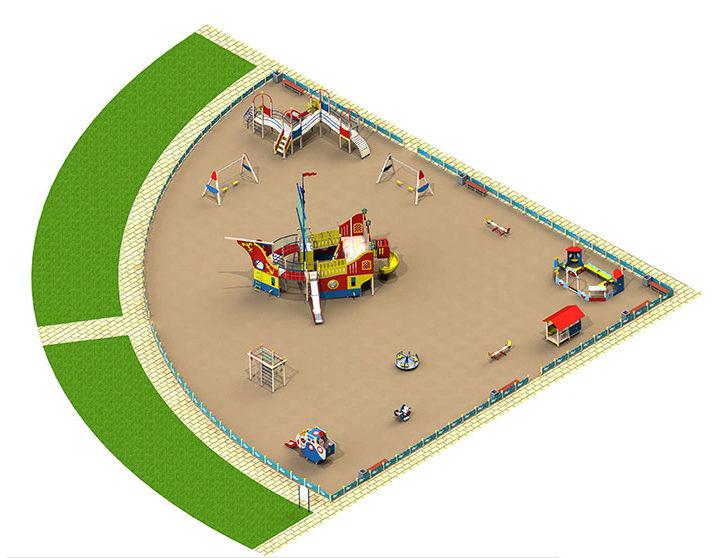 Игровая площадка Новая Земля