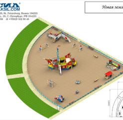План игровой площадки Новая Земля