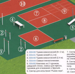 План проекта площадки для сдачи ГТО
